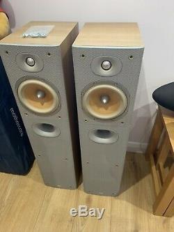 Pristine! B&W DM602.5 S3 100W Center Speakers Bowers Wilkins Floor Standing A1