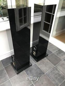 Pristine! Boxed B&W CM8 Bowers & Wilkins 150W Floor Standing Speakers Audiophile