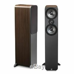 Q Acoustics 3050 Floor Standing Speakers AMERICAN WALNUT QA3052 B2 GRADE PAIR
