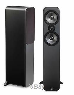 Q Acoustics 3050 Floor Standing Speakers MATTE GRAPHITE QA3050 B2 GRADE PAIR