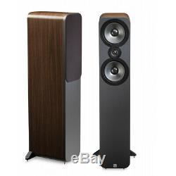 Q Acoustics 3050 Floorstanding Speakers American Walnut