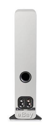 Q Acoustics 3050 Floorstanding Speakers Pair (Gloss White) QA3058 NEW
