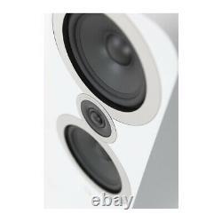 Q Acoustics 3050i Floor standing Speakers Arctic White PAIR 1 Metre Tall