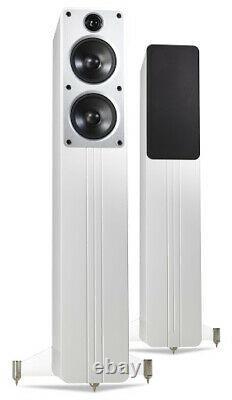 Q Acoustics Concept 40 Floor Standing Speakers Gloss White