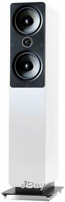 Q Acoustics Q2050i Floor Standing Speakers GLOSS WHITE QA2555 B2 GRADE PAIR