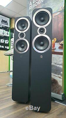 Q Acoustics Q3050i Floorstanding Speakers Black EX DISPLAY 5 Year Warranty