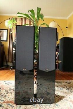 Quad 22L Speakers Excellent Condition Audiophile Quality Piano Black