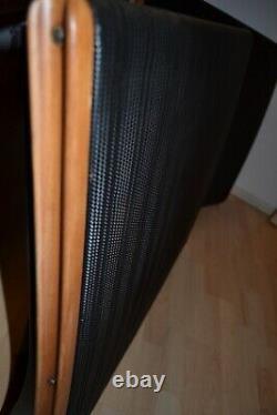 Quad ESL57 BLACK Speakers Electrostatic ESL Loudspeakers Floorstanding IEC