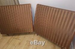 Quad ESL57 Speakers Electrostatic ESL Gold Loudspeakers Floorstanding