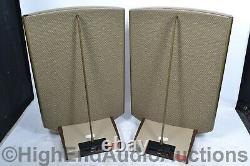 Quad ESL-2805 Electrostatic Floorstanding Speakers English Magic Sheldon Stokes