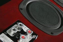 Quad Mahogany S5 Hybrid 3 way ABR Floorstanding Speakers SAVE £600