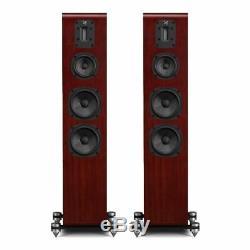 Quad S4 Hybrid 3 way ABR Mahogany Floorstanding Speakers SAVE £400