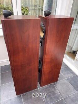 Rare! B&W P6 Cherrywood Bowers Wilkins Floor Speakers Audiophile England