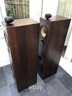 Rare! B&W P6 Cherrywood Bowers and Wilkins Floor Speakers Audiophile England UK
