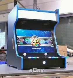 Retro Pie Arcade Machine 2 Player Modular Cabinet 24 LCD Speakers Pi 3 Bartop