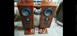 Ruark Accolade Floor Standing Speakers stunning with 8 inphase woofers classic