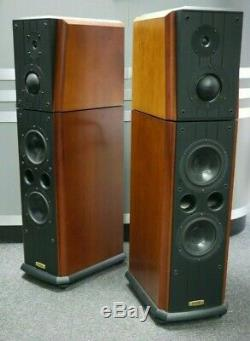 Ruark Solstice Reference Floorstanding Speakers in Cherry Preowned