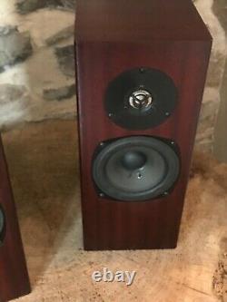 Set of Two (2) Mahogany Rokk Floorstanding Speakers by Totem Acoustic