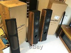 Sonus Faber Grand Piano Home Floorstanding Speakers Walnut