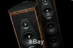 Sonus Faber Olympica III Floor Standing Speakers Pair Hifi Home Cinema WALNUT