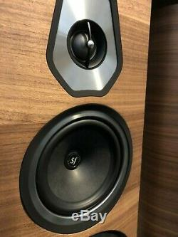 Sonus Faber Sonetto VIII Floorstanding Speakers, Pair in Walnut