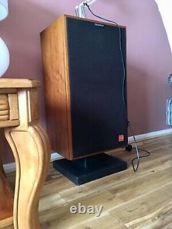 Sony APM-55W 200With6 ohms speakers /WS-G4D stands, Made in Japan