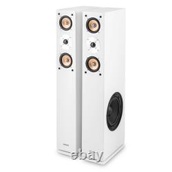 Speakers Floor Standing Hi-Fi Home Stereo Audio Pair 2x 140W RMS Tower Bass 280W