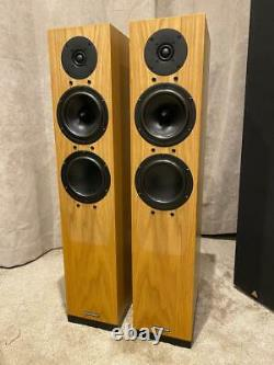 Spendor A5R Compact Floorstanding speakers in Oak Superb Sound BOXED