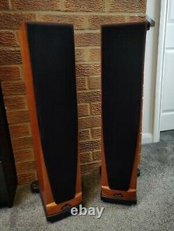 Spendor S5e Cherry Floor Standing Speakers Fully Boxed