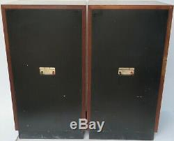 TANNOY BUCKINGHAM DUAL CONCENTRIC STEREO SPEAKERS (s/n00235L/R) -WORLDWIDE POST