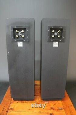 TDL Studio 1 Speakers Floorstanding Audiophile Hi Fi Transmission Line + Stands