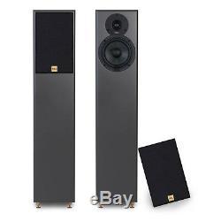 TIBO Legacy 5+ Passive Hi-Fi Floor Standing Speakers 200W Black