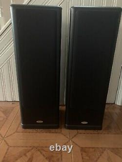 Tannoy 637 Plus + floor Standing Speakers (Black Ash) Pair