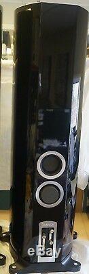 Tannoy DC10 Ti Floorstanding Speaker Pair Black DNG-282