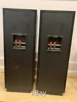 Tannoy DC2000 Floor-standing Speakers in Black Ashwood (with grilles)