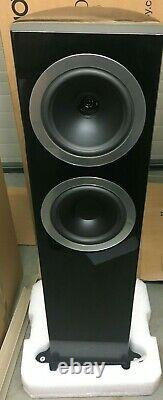 Tannoy DC8 TI Floorstanding Speaker Pair Black CTI NIN-1571