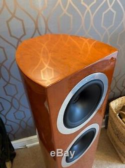 Tannoy Definition DC8Ti Immaculate floorstanding speakers in cherry