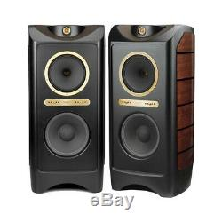 Tannoy Kingdom Royal Floor Standing Speakers High Gloss Black'B' Grade