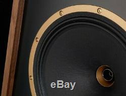 Tannoy Legacy Cheviot Speakers PAIR Floorstanding Audiophile Best Loudspeaker