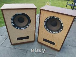 Tannoy Lsu/hf/12/8 Lancaster Stereo Speakers Pair