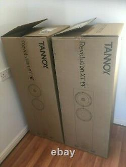 Tannoy Revolution XT6F Medium Oak Floor standing Speakers What Hi-Fi 5 Stars