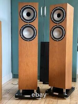Tannoy Revolution XT6F floorstanding HiFi speakers