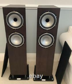 Tannoy Revolution XT8F Floorstanding speakers XT 8F Dark Walnut Mint Condition