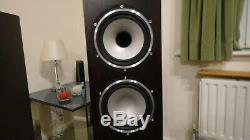 Tannoy Revolution XT 6F Floorstanding Speakers Dark Wallnut