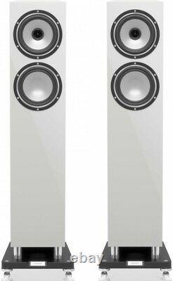 Tannoy Revolution XT 6F Speakers Pair WHITE Tower Home Floor Standing