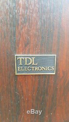 Tdl Rtl3 Floor Standing Speakers Transmission Line Superb Bass Hertfordshire