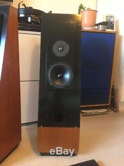 Thiel Audio CS 1.2 floor standing speakers vintage rare Very Nice Condition