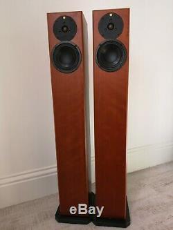 Totem Arro Floorstanding Speakers, finished in Cherry