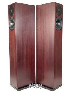 Totem Sttaf Floorstanding Speakers Pair Mahogany