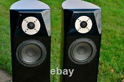 USHER Mini Dancer ONE 1 BE Beryllium Floorstanding Speakers TRUE AUDIOPHILE